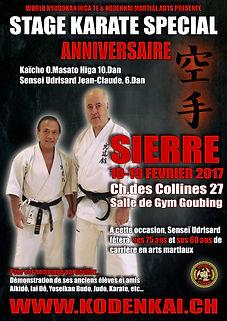 Karate Club Kodenkai Valais Jubilé Udrisard