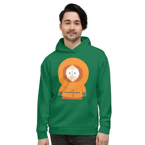 Sweat à Capuche Unisexe Kenny McCormick South Park Vert