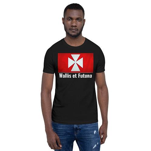 T-shirt Unisexe à Manches Courtes Wallis et Futuna