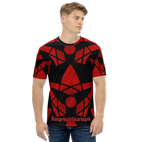 T-shirt pour Homme Mangekyô Sharingan