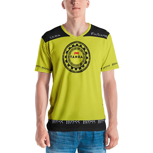 T-shirt pour Homme HVOSS Uvea mo Futuna Tanoa 2020 jaune