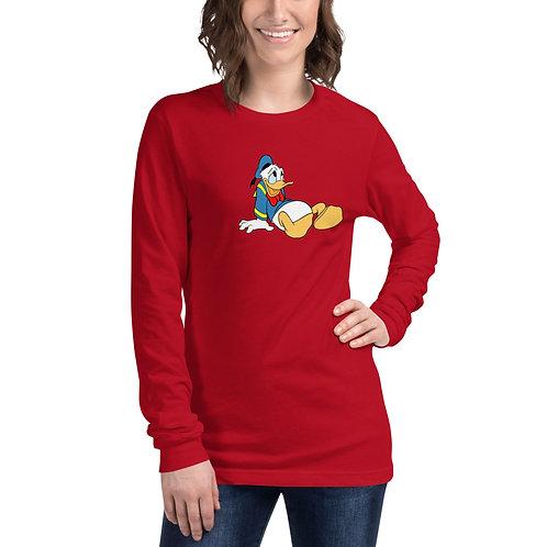 T-shirt Unisexe à Manches Longues Donald