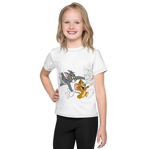T-shirt Pour Enfant Tom&Jerry