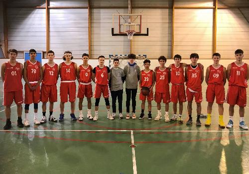 Equipe garçons section sportive basket - lycée