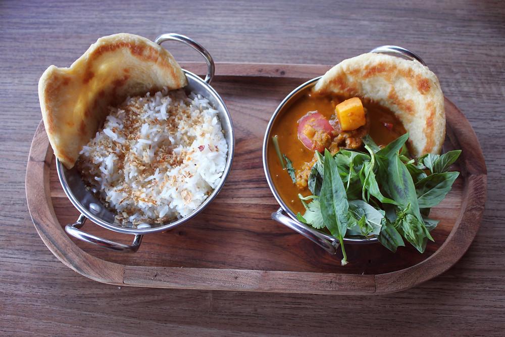 Vegetable Curry - Vegan, Gluten Free. Red Lion Hotel Ballarat Restaurant
