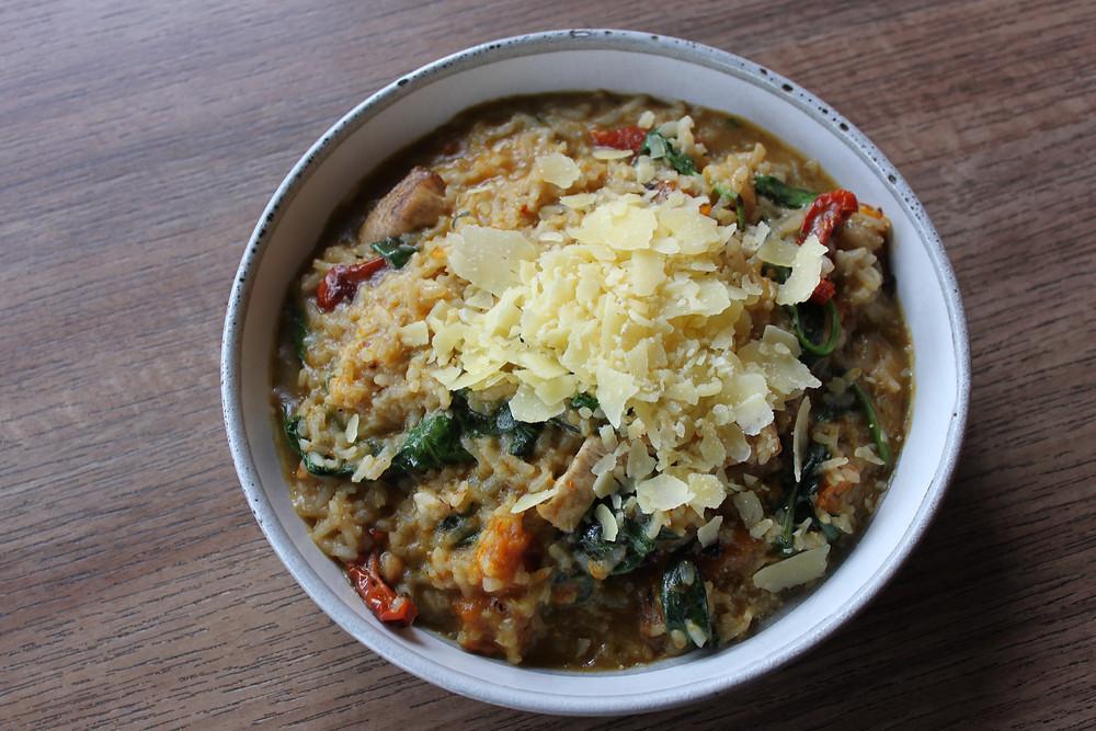Chicken Risotto, gluten free Ballarat, Ballarat Restaurants