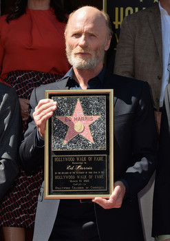 Four-time Oscar nominee Ed Harris gets star on the Hollywood Walk of Fame