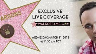 'Big Bang Theory' star Jim Parsons gets star on Hollywood Walk of Fame