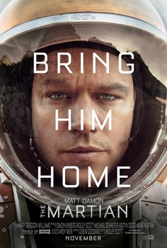 Blast off with one of the best film's of the year with 'The Martian'