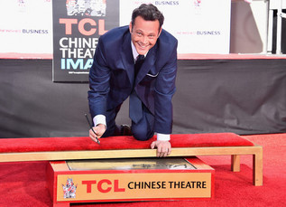 Vince Vaughn celebrates with new hand and footprint ceremony at TCL Chinese