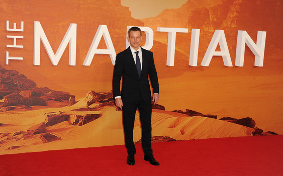 'The Martian's' Matt Damon named Best Actor of 2015 by National Board of Review on Tuesday, December 1, 2015.