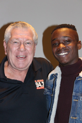 Talented 'Moonlight' star Ashton Saunders was featured at Q&A at Tristone Palm Desert 10