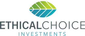 Ethical Choice Investments leaf logo