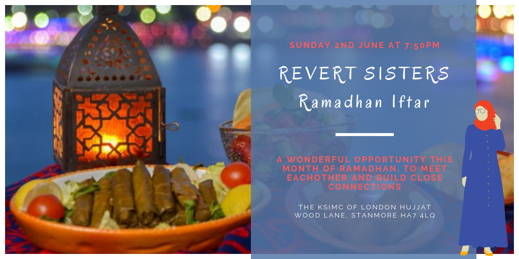 Revert Sisters Ramadhan Iftar