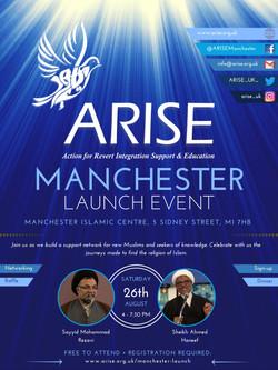 ARISE Manchester Launch