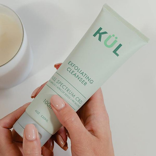 Kul CBD Exfoliating Cleanser