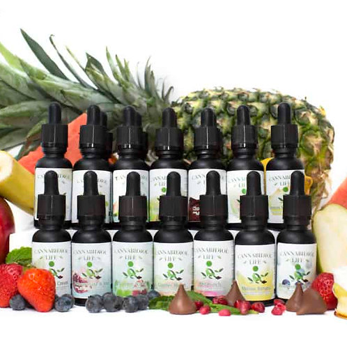 Cannabidiol Life refillable Vape Pen / Refill Juices