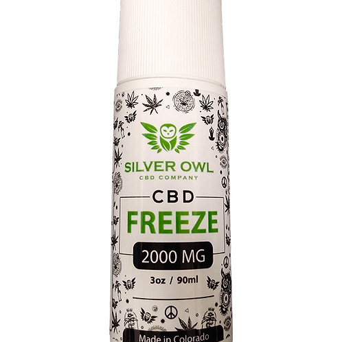 Silver Owl CBD Freeze 2000mg