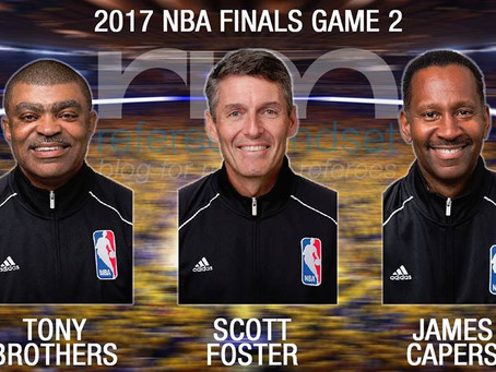 NBA Finals Game 2 Crew
