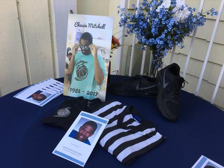Chasin Mitchell's Memorial Service