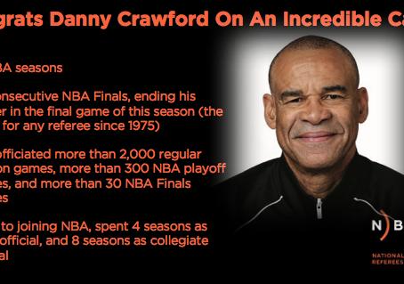 NBA Official Danny Crawford Retires