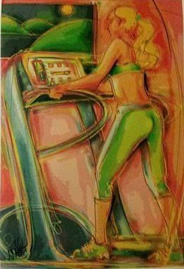 Nova gravura do artista plástico, Mai Ba