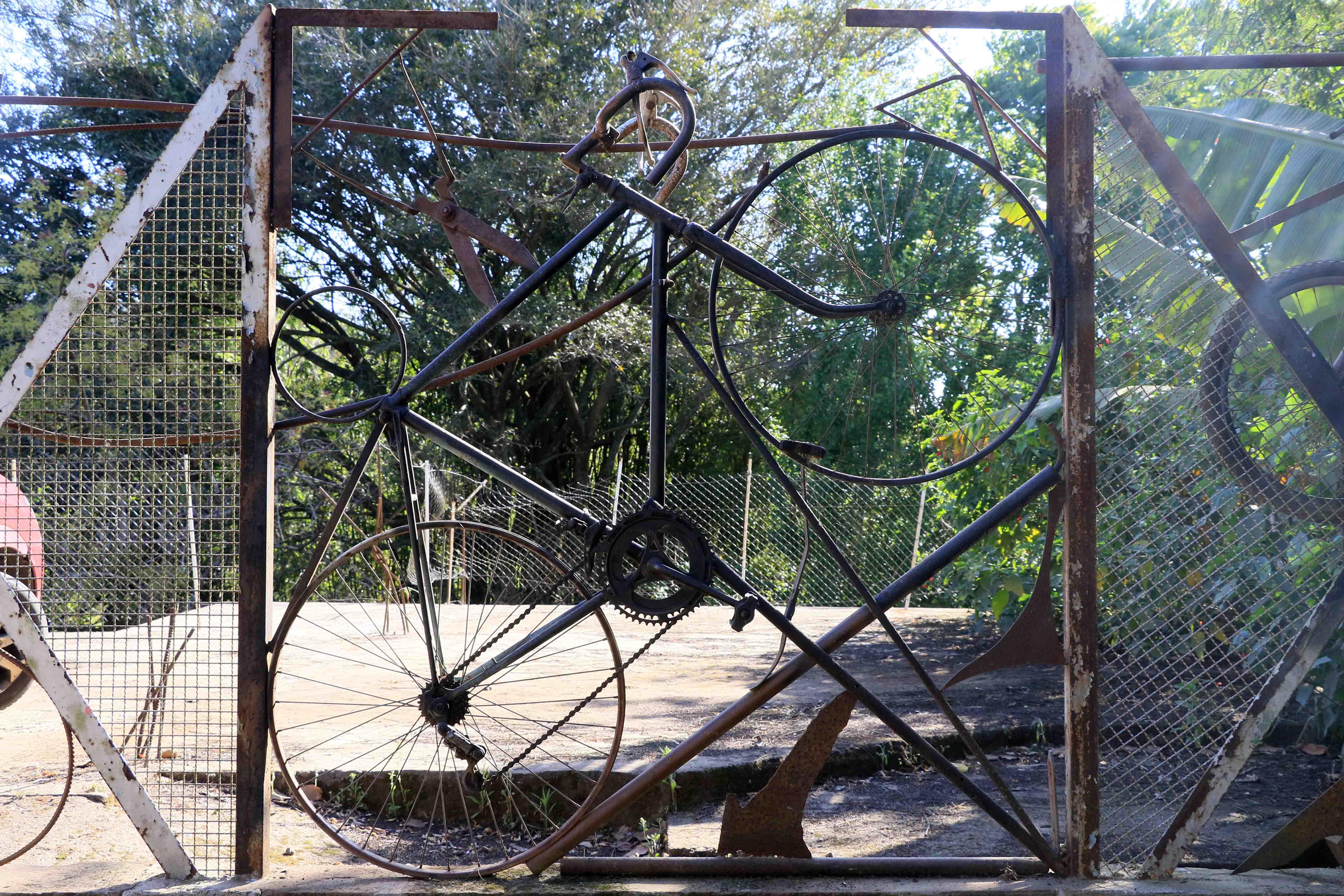 bicicletas em solda por Mai Bavoso