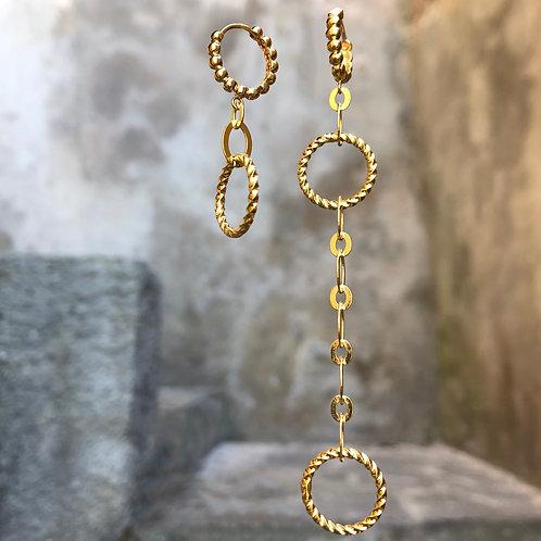 Boucles d'oreilles Milla Gold
