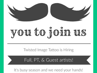 HIRING FULL, PART TIME, & GUEST ARTISTS!