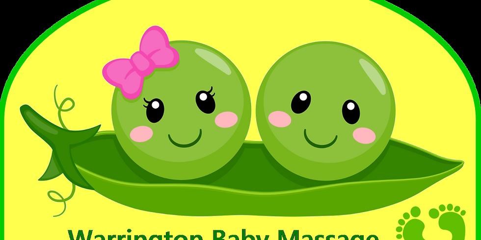 2pm Baby Massage - Stockton Heath - 3 Session Mini Term
