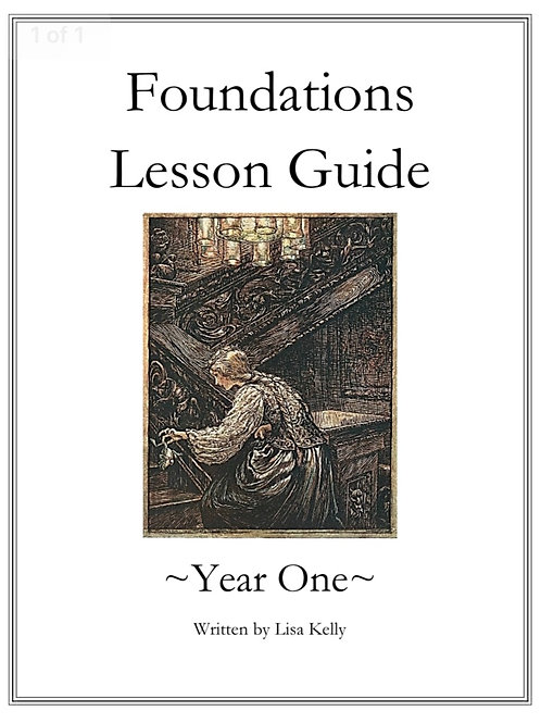 Foundations Lesson Guide -Year One