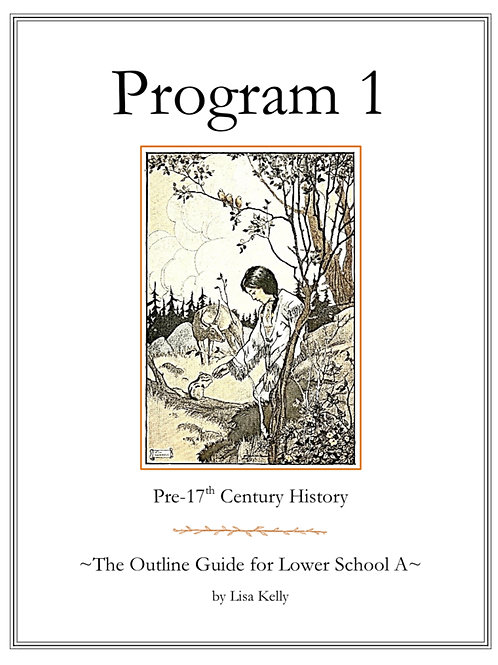 Program 1: The Outline Guide for Lower School A