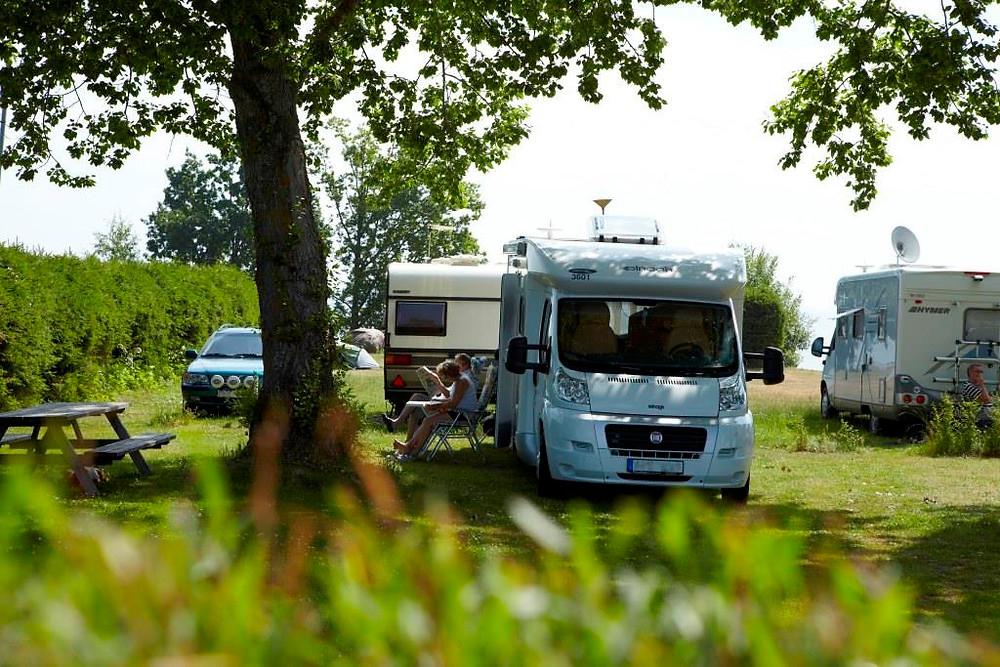 Beliebt: Camping in Schweden