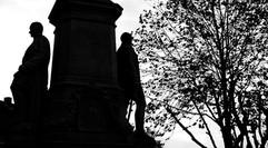 Kaiser Wilhelm- Denkmal an der evangelischen Kirche