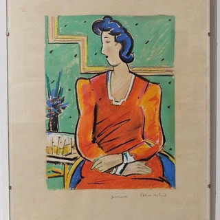 Anne Heseler, Dame in Rot