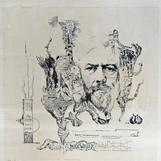"""Bernard Schultze, """"Max Weber"""""""