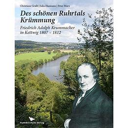 """Friedrich Adolf Krummacher in Kettwig 1807 - 1812  Friedrich Adolph Krummacher war ein evangelischer Theologe und zugleich ein Bestsellerautor der Goethezeit. Eine Vielzahl von außerordentlichen Dokumenten ermöglicht es, ein ganz nahes und lebendiges Bild von ihm zu gewinnen und mittels seiner Bekanntschaft in eine Zeit einzutauchen, in der uns manches fremd und vorgestrig, vieles aber auch überraschend nah und zugänglich erscheint.   Das Buch konzentriert sich dabei auf die Kettwiger Jahre, 1807 – 1812; eine historische Ausnahmesituation, die """"Franzosenzeit"""" unter Napoleon. Wie erlebt der Dichter, Pfarrer, Freund und Familienvater diese Zeit? In seinen Werken, noch mehr aber in seinen zahlreichen Briefen und zeitgenössischen Urteilen, zeigt sich ein ausgesprochen liebenswerter, humorvoller und geistreicher Mensch. Seinen vielfältigen Spuren und damit der Lebensart von vor 200 Jahren nachzugehen, macht Zeit- und Kulturgeschichte auf faszinierende Weise erfahrbar."""