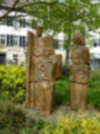 Herbert Lungwitz - die Familie - Skulpturenpark kettwig
