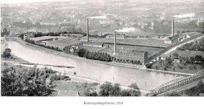 Kammgarnspinnerei 1914