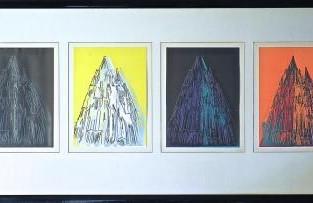 """Andy Warhol, """"Der Dom zu Köln"""""""