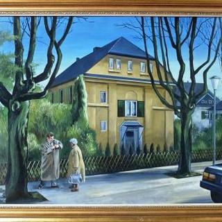 """Werner Freise, """"Vor der Brücke"""" (Rinderbachstrasse)"""