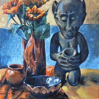 """Werner Freise, """"Stillleben Afrika"""""""