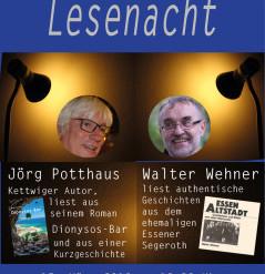 15. März: Lesenacht der Stadtteilbücherei