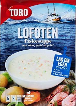Lofoten Fischsuppe