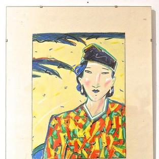 Anne Heseler, Dame mit Hut