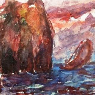 Peter Winter-Heidingsfeld, Segelboote vor Rügen