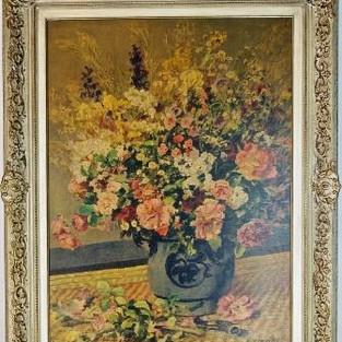 """Auguste Renoir, """"Vase mit Blumen"""""""