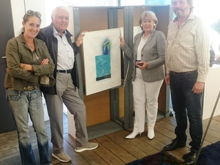 1000 € für den Skulpturenpark Kettwig