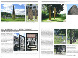 Der Skulpturenpark im CUBE Magazin