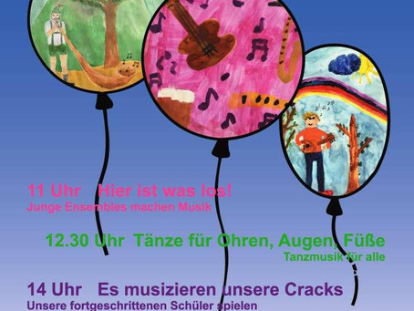 Wir feiern den Sommer mit unseren Konzerten!